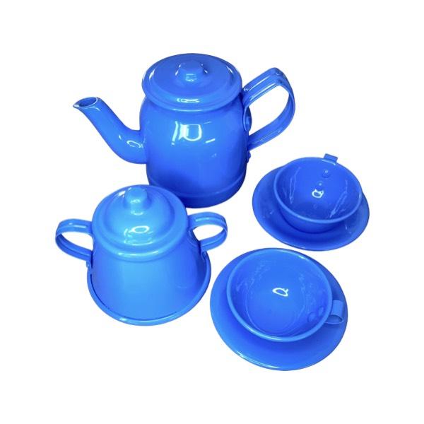 Kit Chá Infantil Azul