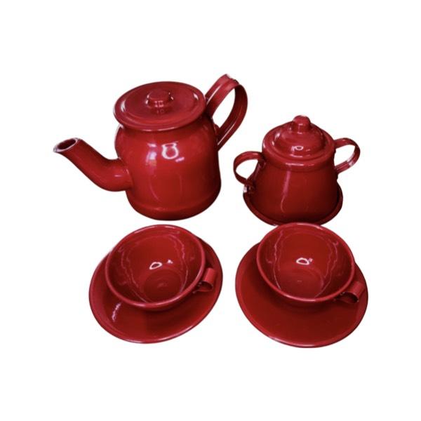 Kit Chá Infantil Vermelho
