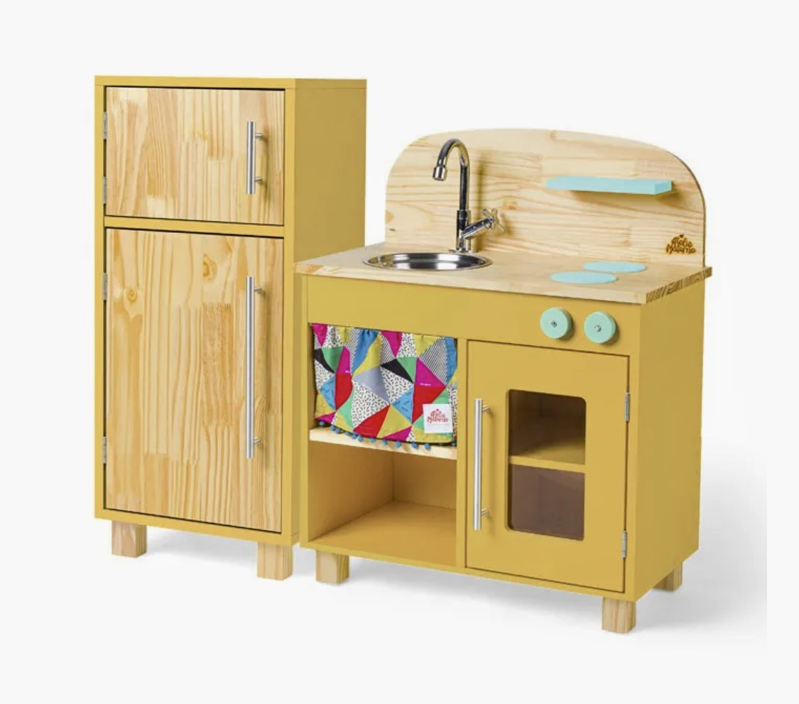 Mini Cozinha Amarela