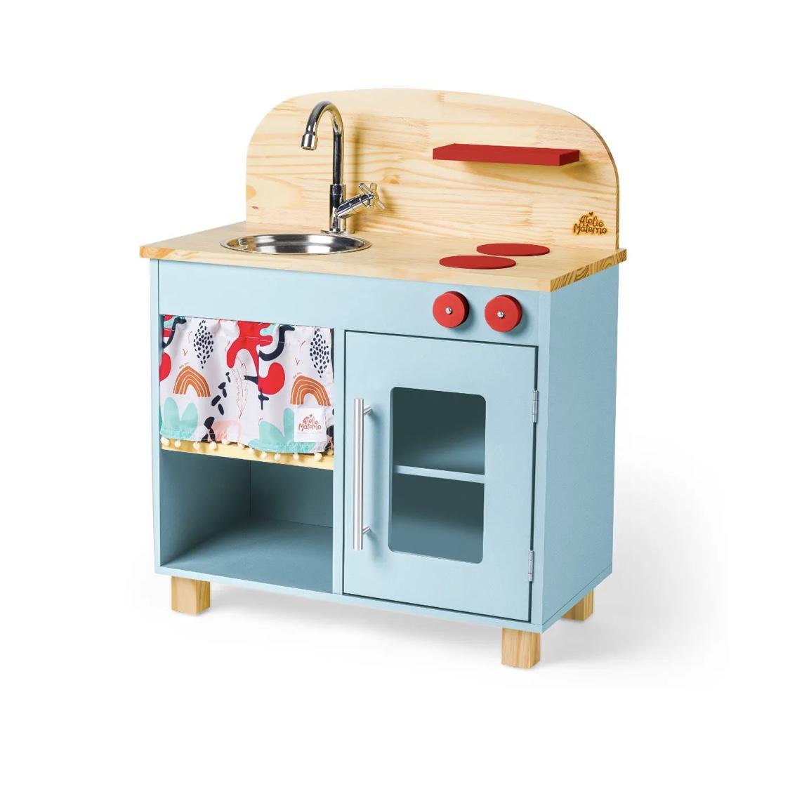 Mini Cozinha Azul