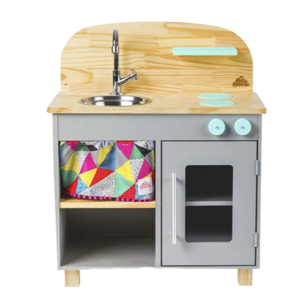 Mini Cozinha Cinza