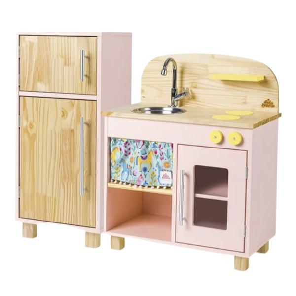 Mini Cozinha Rosa
