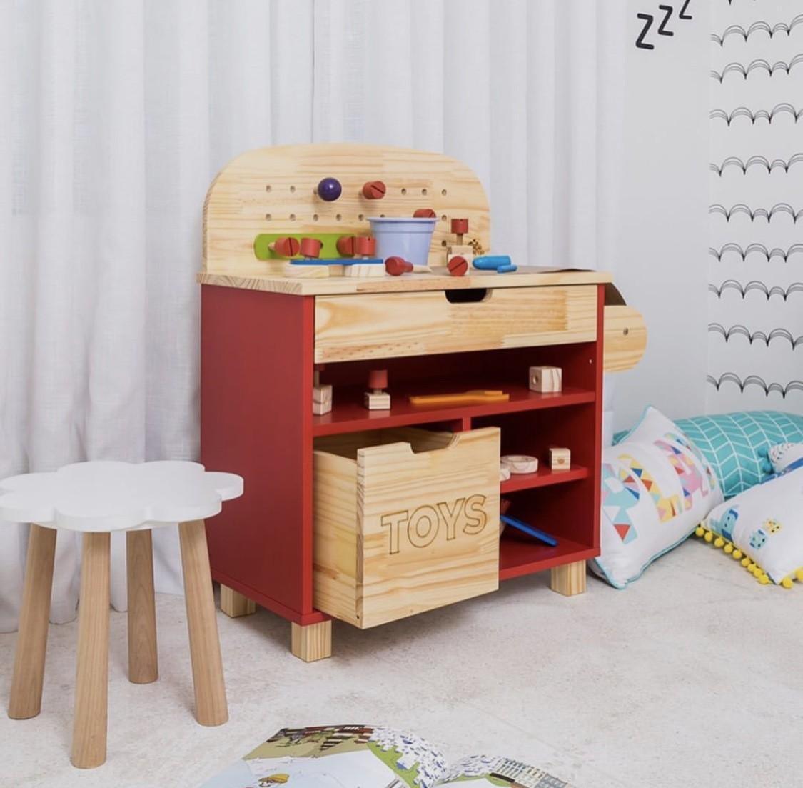 Mini Oficina Vermelha