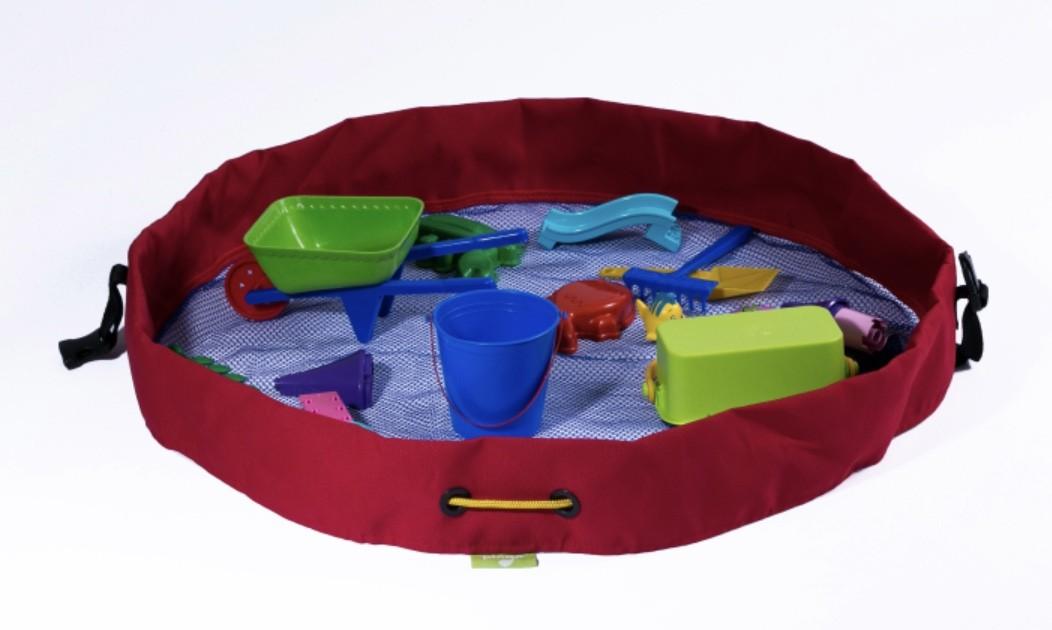 Bolsa Organizadora Praia Azul e Vermelha