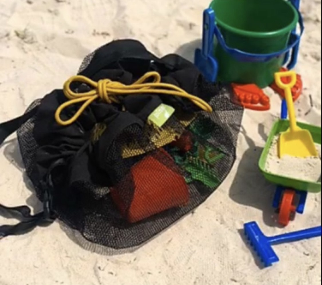 Bolsa Organizadora Praia Preta