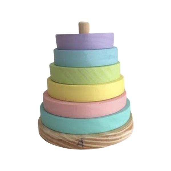 Torre de Encaixe Candy Colors