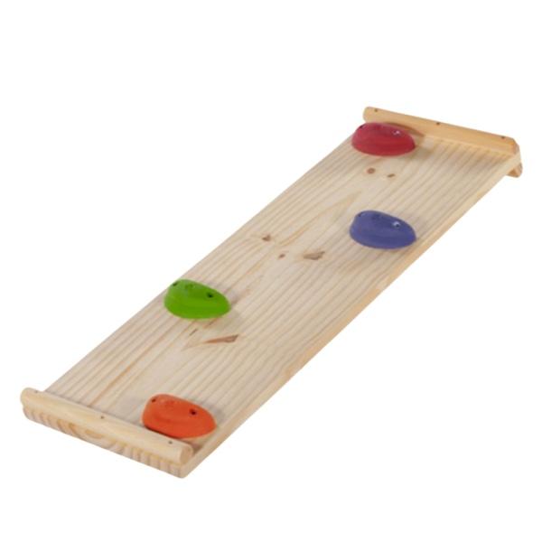 Triângulo Pikler Simples Colorido com Rampa de Escalada