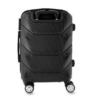 Mala de viagem média confeccionada em ABS com trava de segurança