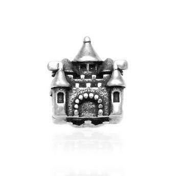 Berloque Castelo Disney Prata