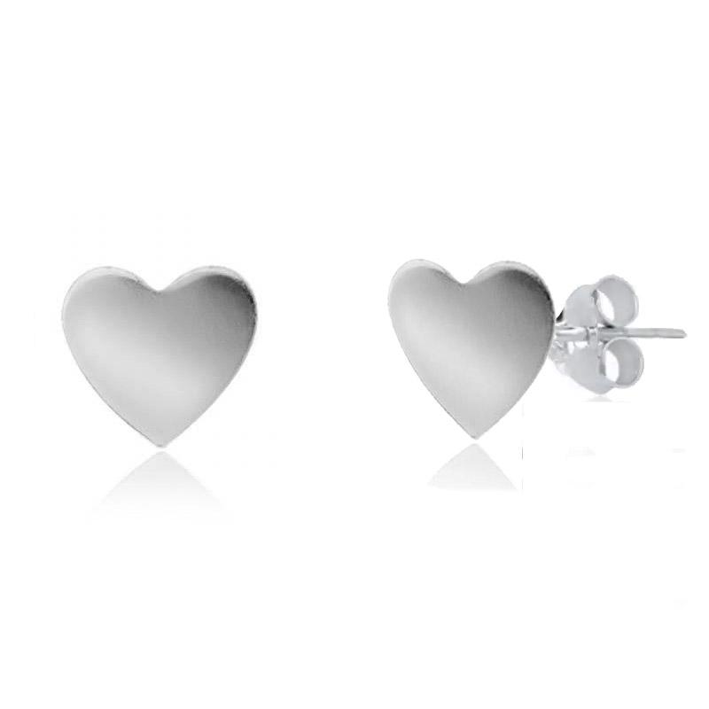 Brinco Coração Prata