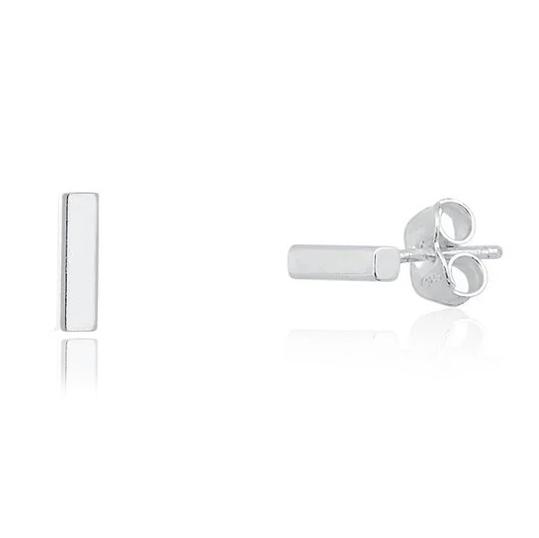 Brinco de Prata palito mini