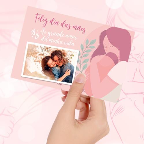 Cartão com foto - BRINDE