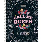 Caderno Colegial Capricho Tilibra 10 matérias