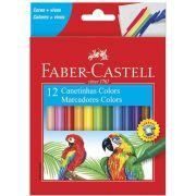 Canetinha Hidrográfica 12 Cores Faber-Castell
