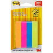 Marcador de Página de Papel Adesivo Post-it Flags 76 mm x 15 mm - 180 folhas