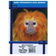 Papel Fotográfico Glossy Auto-Adesivo A4 130g c/ 50 Folhas Masterprint
