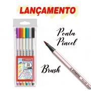 Stabilo Brush Pen 68 Kit c/ 6 unidades