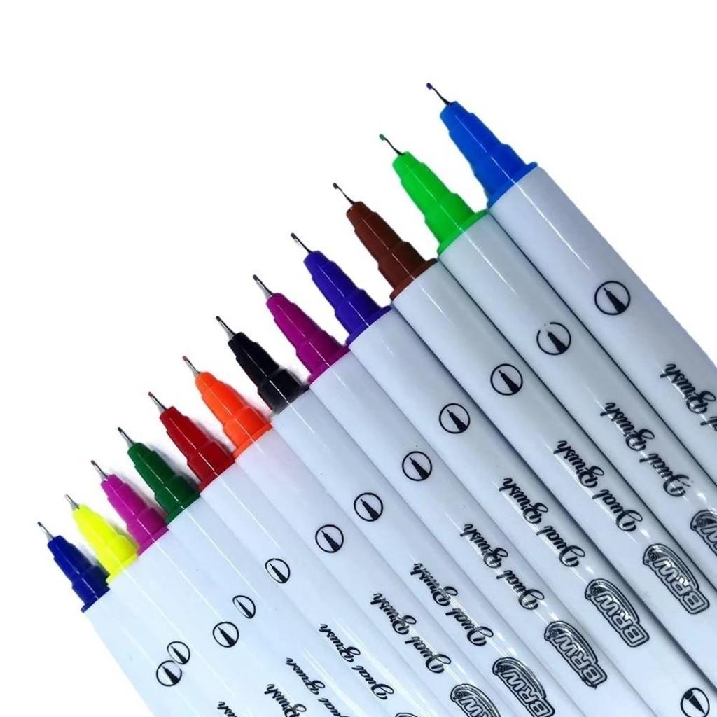 Kit c/ 12 Dual Brush Pens BRW