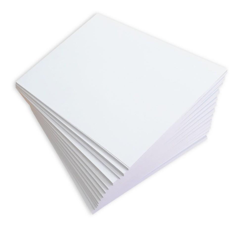 Papel cartão branco A4 240g c/ 50 folhas