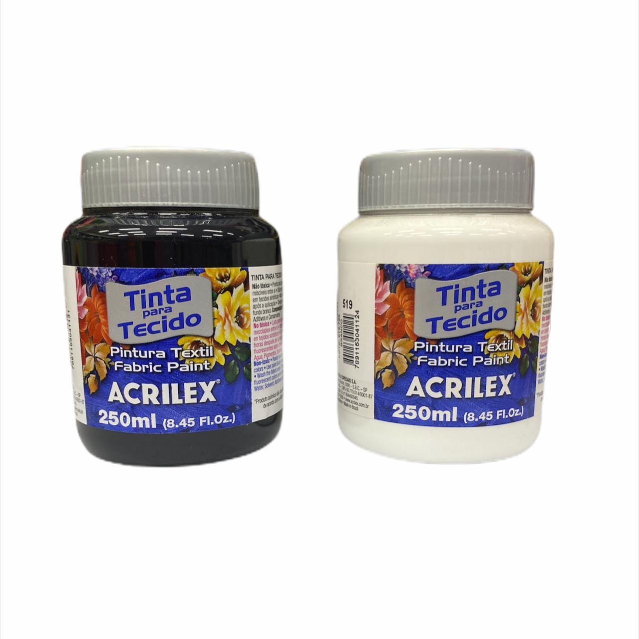 Tinta para Tecido Acrilex 250ml