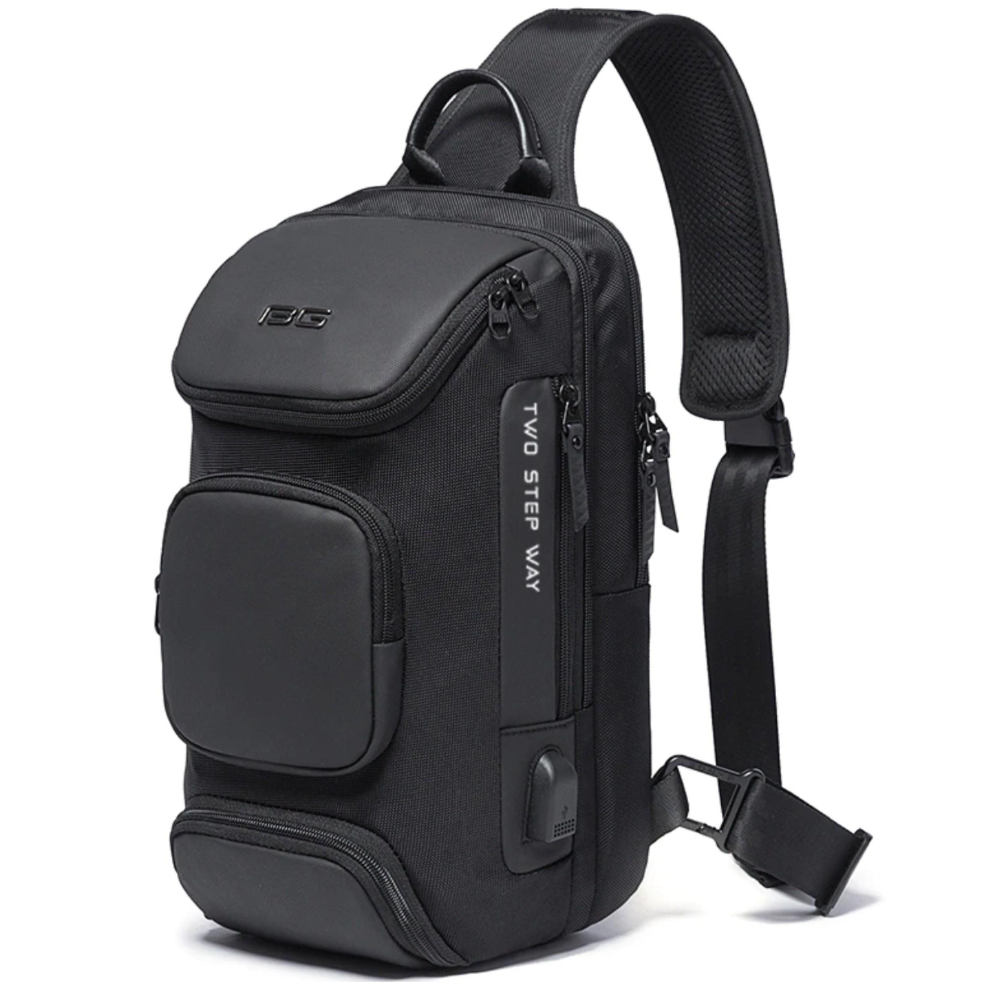 Bolsa Mochila Mini Transversal USB BG Keep Walking