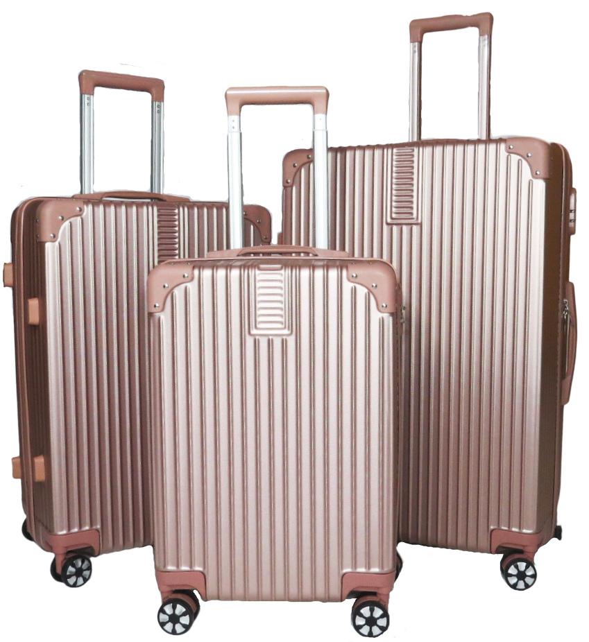 Conjunto com 3 malas P M e G - Nova Iorque