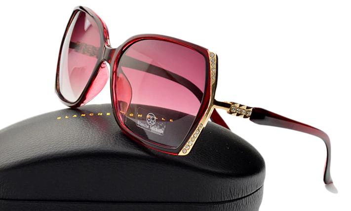 Óculos de Sol Feminino Lente Polarizada UV400 - Blanche  Michelle - BM2632