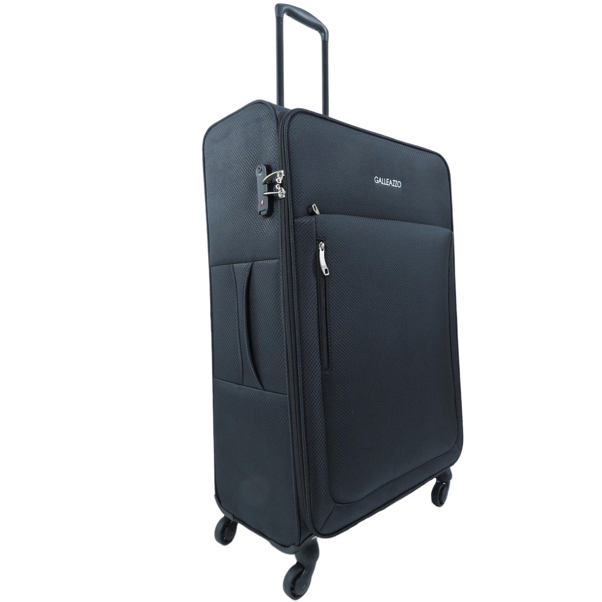 Mala de Viagem Média Despachar Familia Super Leves Ultra Light com Cadeado TSA Internacional