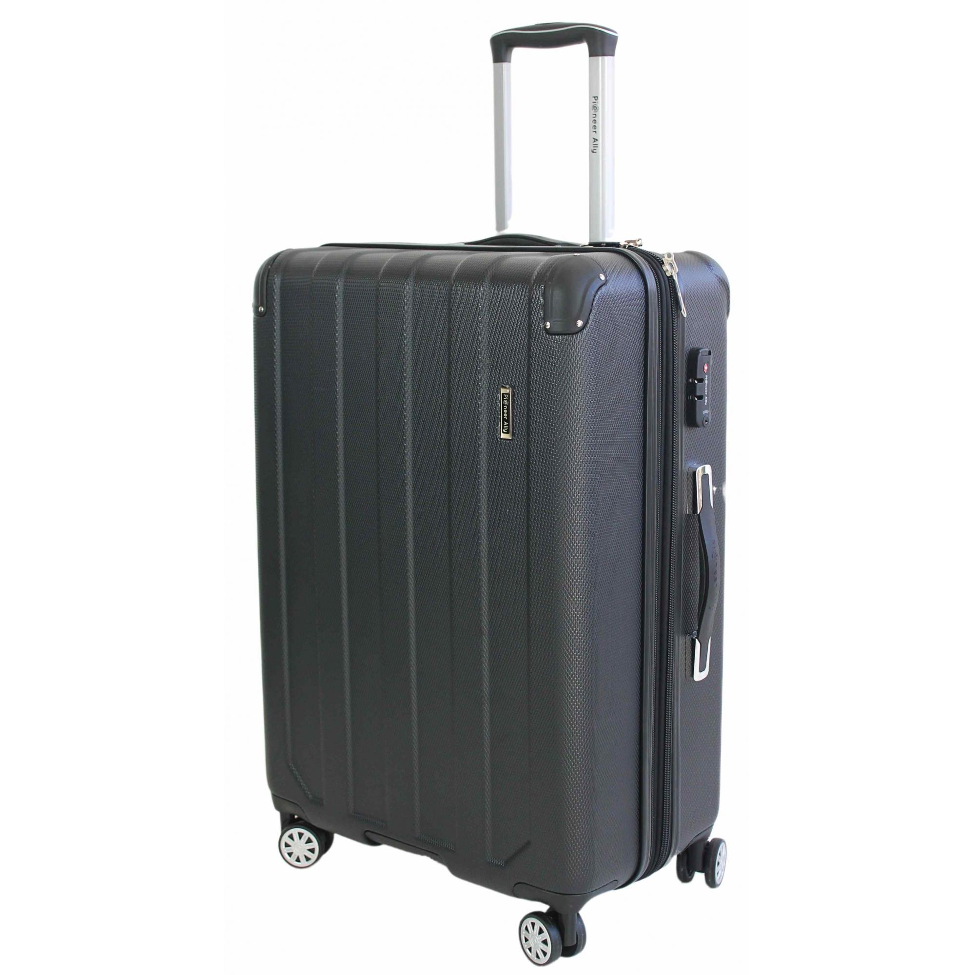 Mala Média 4 Rodas 360° e Cadeado TSA em Policarbonato (PC) - Pioneer Ally