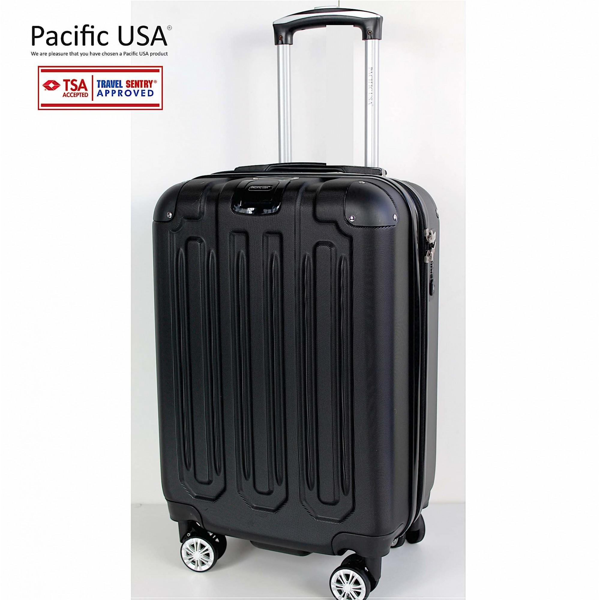 Mala Pequena - Pacific USA 8852 com Dupla Conexão USB