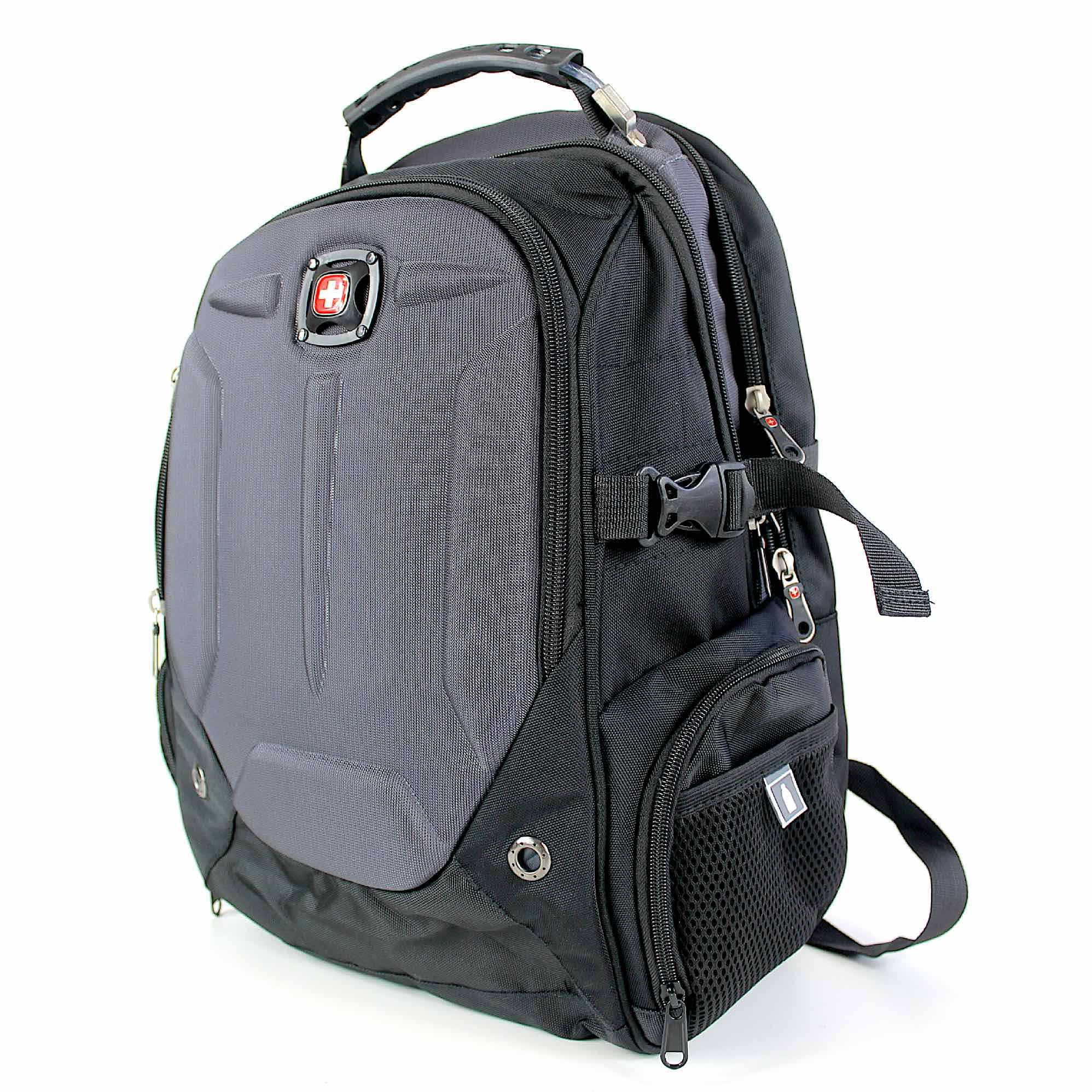 Mochila Multifuncional Notebook 17 Escudo Cabo de Aço
