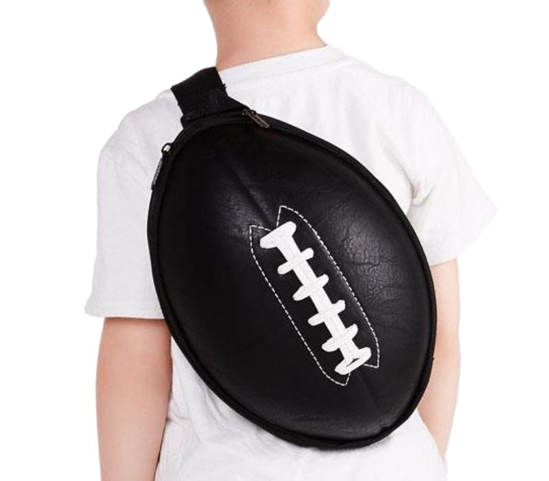 Mochila Viagem Escolar Super Cute - Futebol Americano Preta