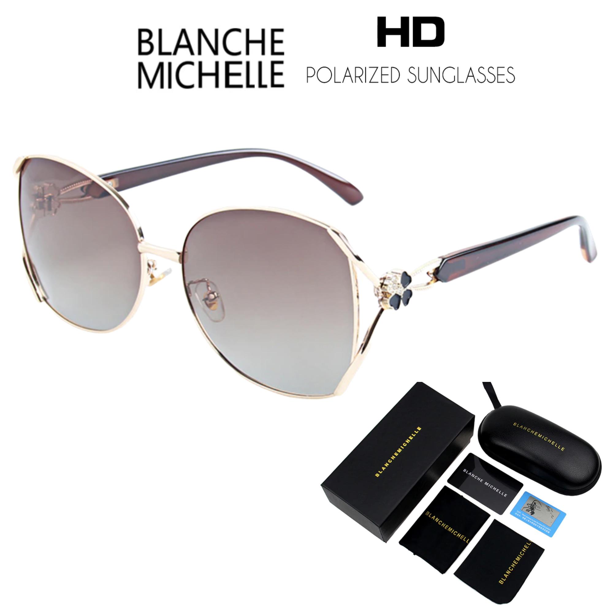 Óculos de Sol Feminino Lente Polarizada UV400 - Blanche  Michelle - BM5213