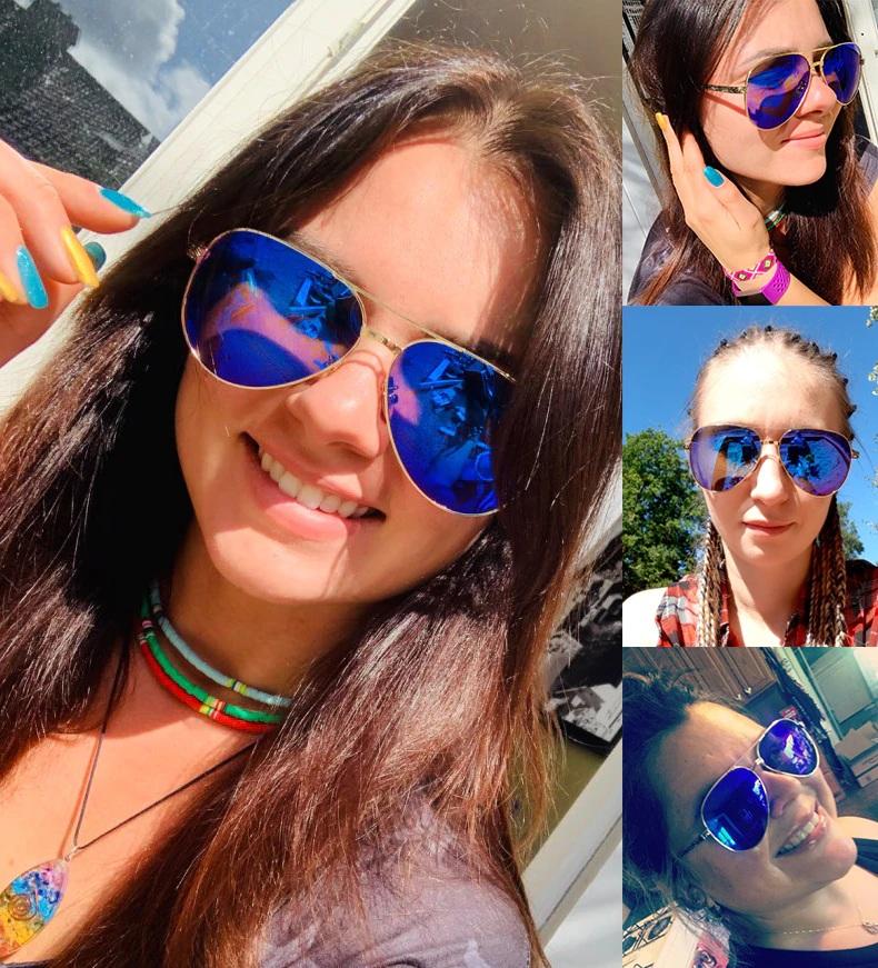Óculos de Sol Feminino Lente Polarizada UV400 - Blanche  Michelle - BM0240