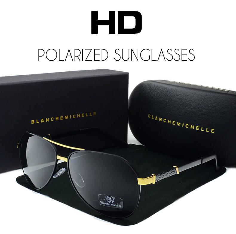 Óculos de Sol Feminino Lente Polarizada UV400 - Blanche  Michelle - BM8775 - nº12