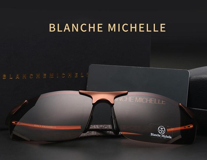 Óculos de Sol Lente Polarizada UV400 - Blanche  Michelle - BM8179