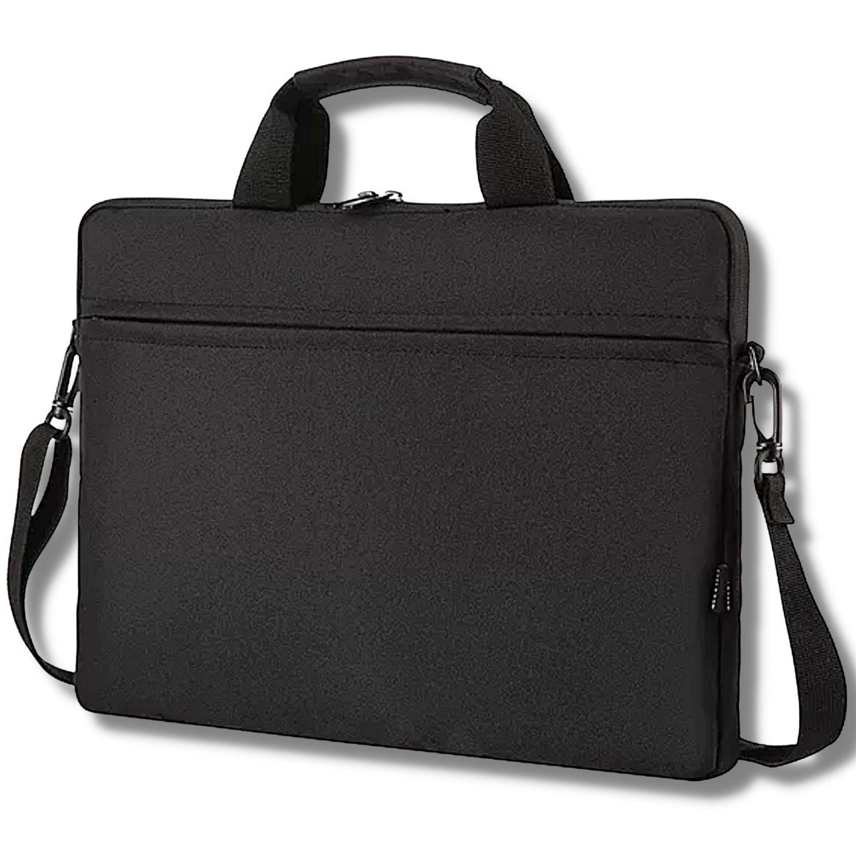 Pasta Laptop Bag para Notebook15 pol Mundi com Alça Tiracolo e Bolso Frontal