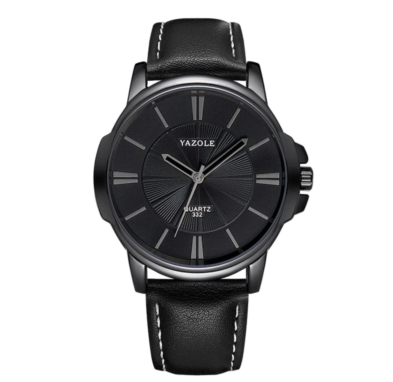Relógio Masculino Casual/Social Yazole 332 Aço Inox