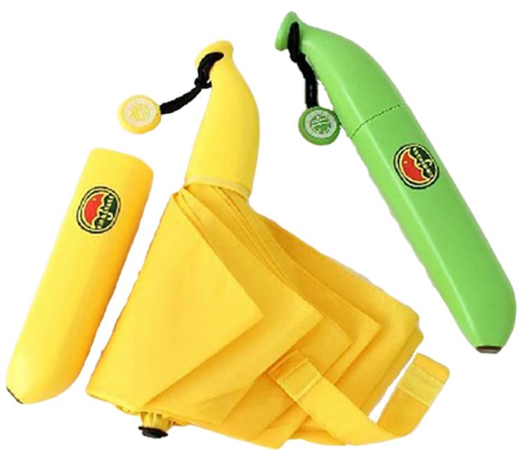 Sombrinha Umbrela Divertida Banana e Cenoura