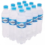 Água mineral Natural Cristal sem gás 500 ml 12 unid.