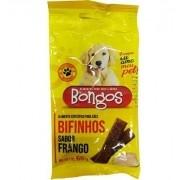 Alimento para cães bifinhos petisco sabor frango 65 g kit com 3