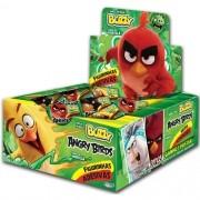 Angry Birds Chicletes com figurinhas adesivas 100 unidades