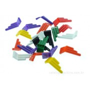 Apito 3 Furos Embalagem Com 20 Unidades Colorido