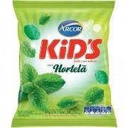 Bala Kids Menta da Arcor pacote com 600 g