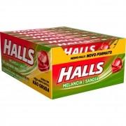 Balas Halls Melancia caixa com 21 unid de 28 g