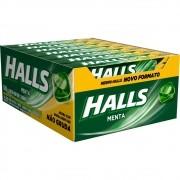 Balas Halls Menta caixa com 21 unid de 28 g