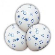 Balões Marinheiro Azul, Vermelho, Ou Branco Pacote Com 25 Un