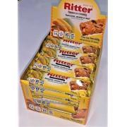 Barra de cereal banana aveia e mel 24 unid ( Ritter )