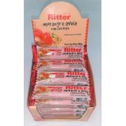 Barra de cereal Morango e aveia com chocolate 24 unid ( Ritter )
