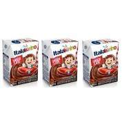 Bebida Láctea UHT Sabor Chocolate 200ml pack com 3 unid